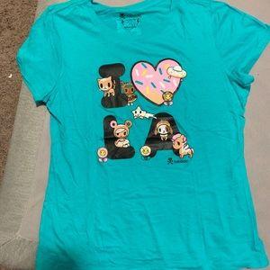 Tokidoki  I Love LA Donut T-shirt